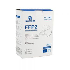 Confezione di 20 Mascherine certificate FFP2 con Protezione Respiratoria, Antipolvere a 5 Strati