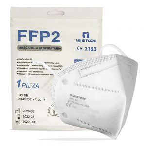 20 Mascherine FFP2  certificate CE 2163 con Protezione Respiratoria, Antipolvere a 5 Strati